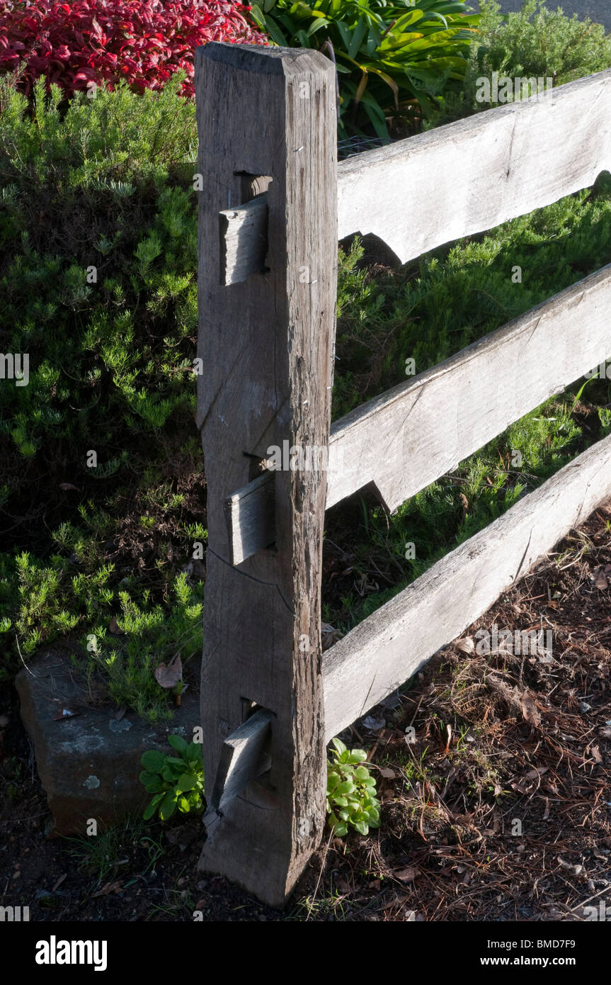 Post And Rail Fencing Stock Photos & Post And Rail Fencing Stock ...