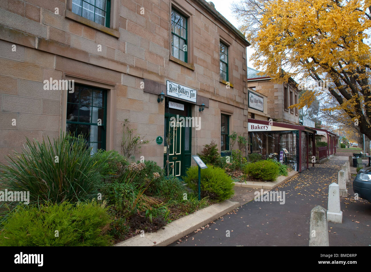The Ross Village Bakery in Ross in the Tasmanian midlands - Stock Image