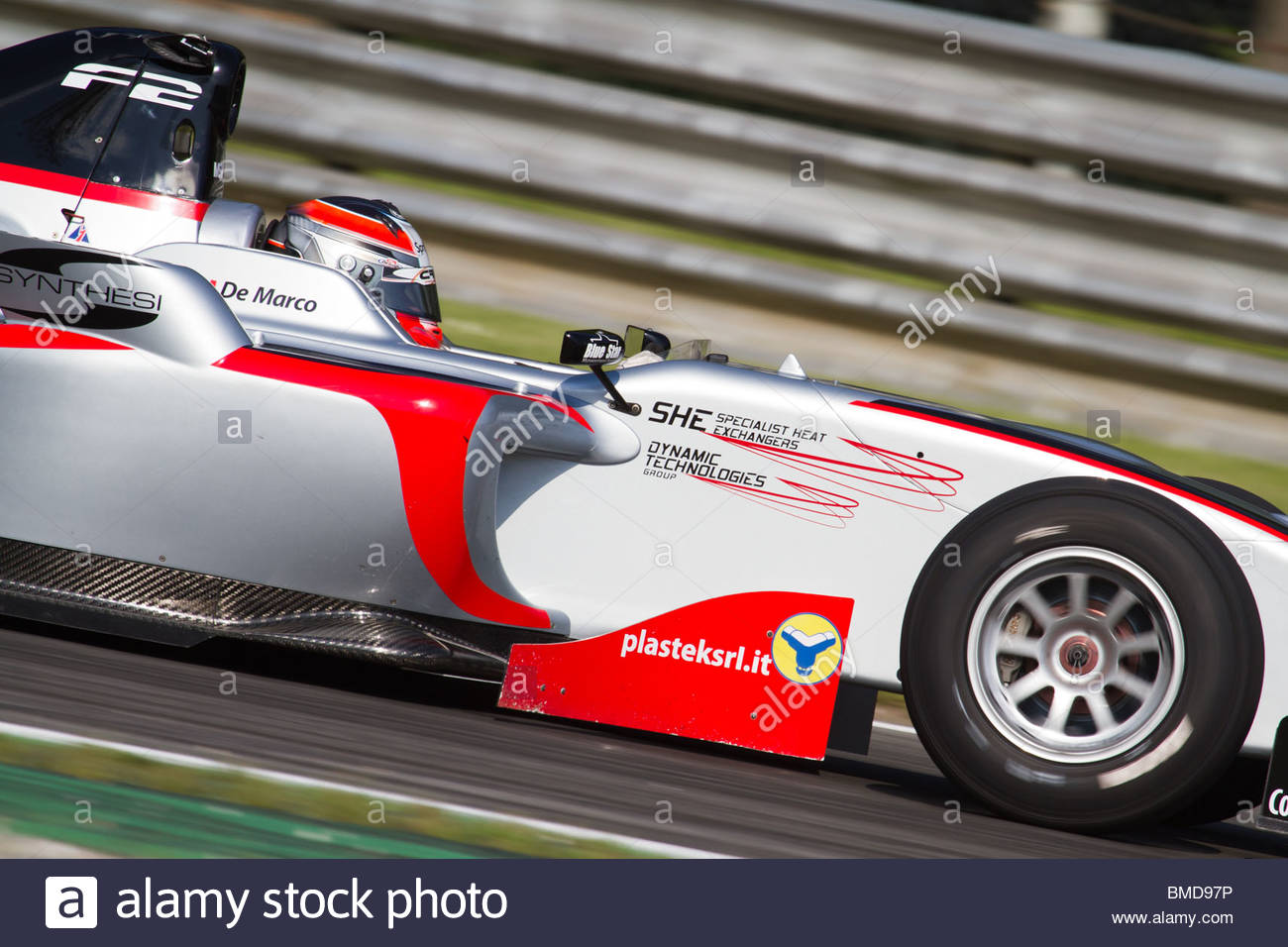 Nicola De Marco during qualification for race 2 at FIA Formula 2 Championship 2010 in Monza. - Stock Image