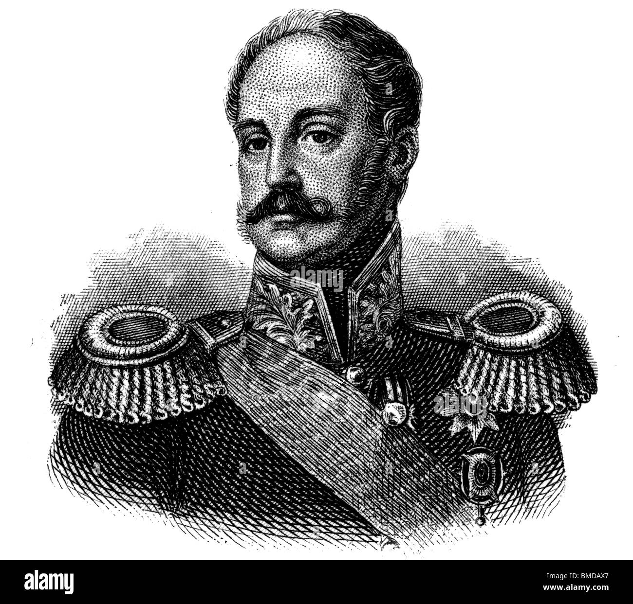 Nicholas I of Russia - Stock Image