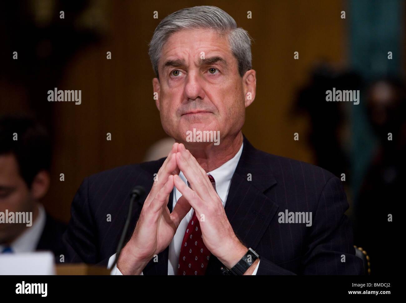 FBI Chief Robert Mueller. - Stock Image