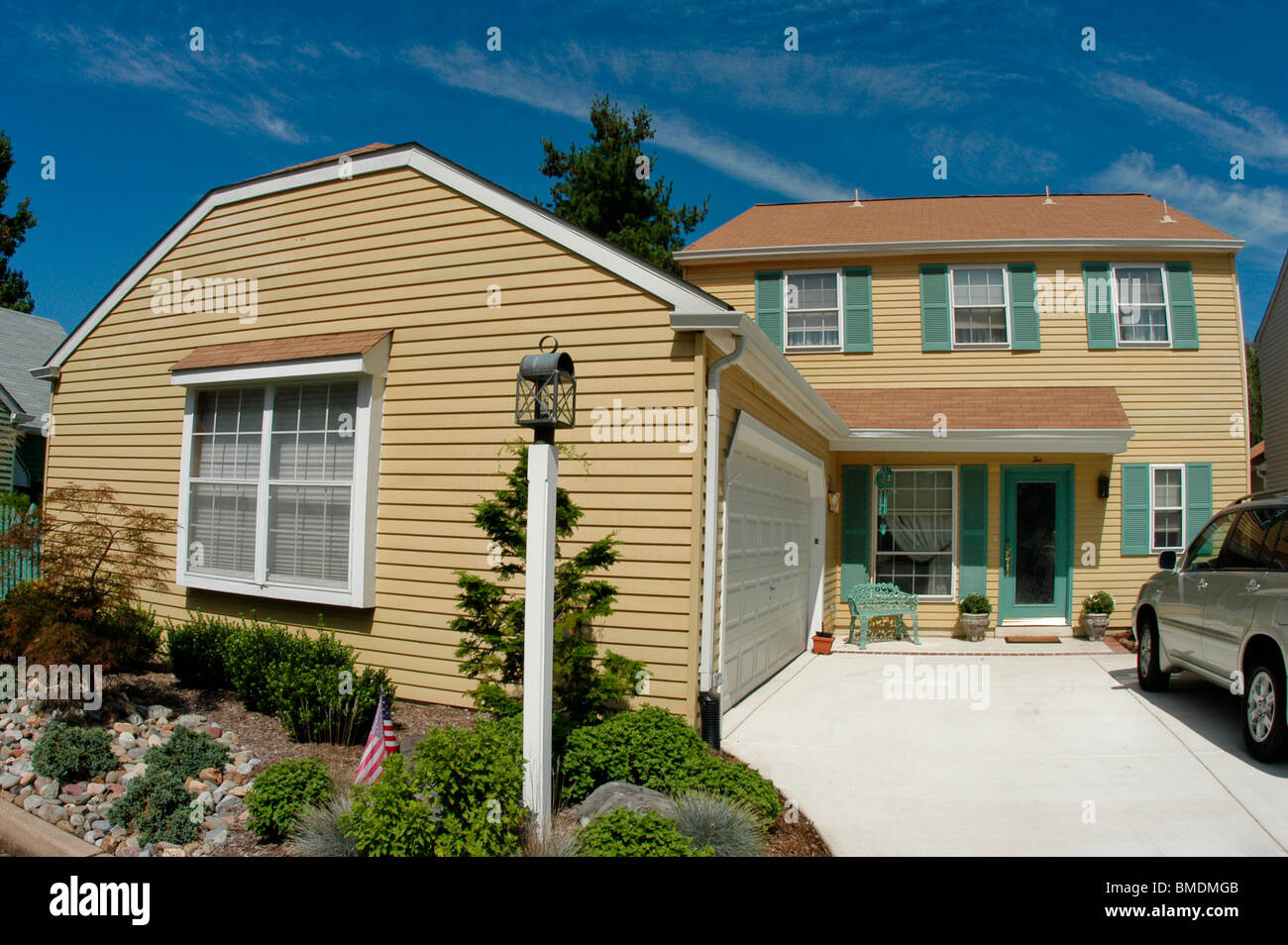 "New Jersey, USA, ""Single Family House"" Stock Photo"