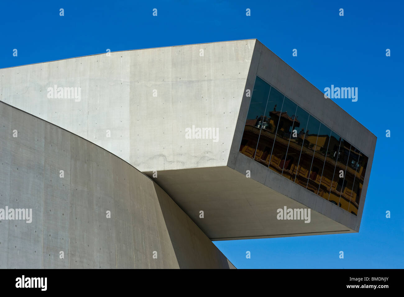 MAXXI National Museum of the 21st Century Arts, Rome, Italy - Stock Image