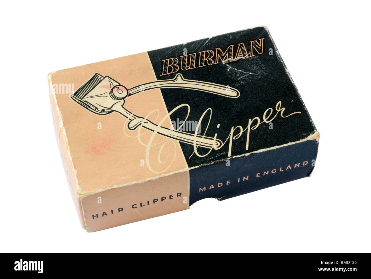 Vintage Burman Hair Clippers - Stock Image