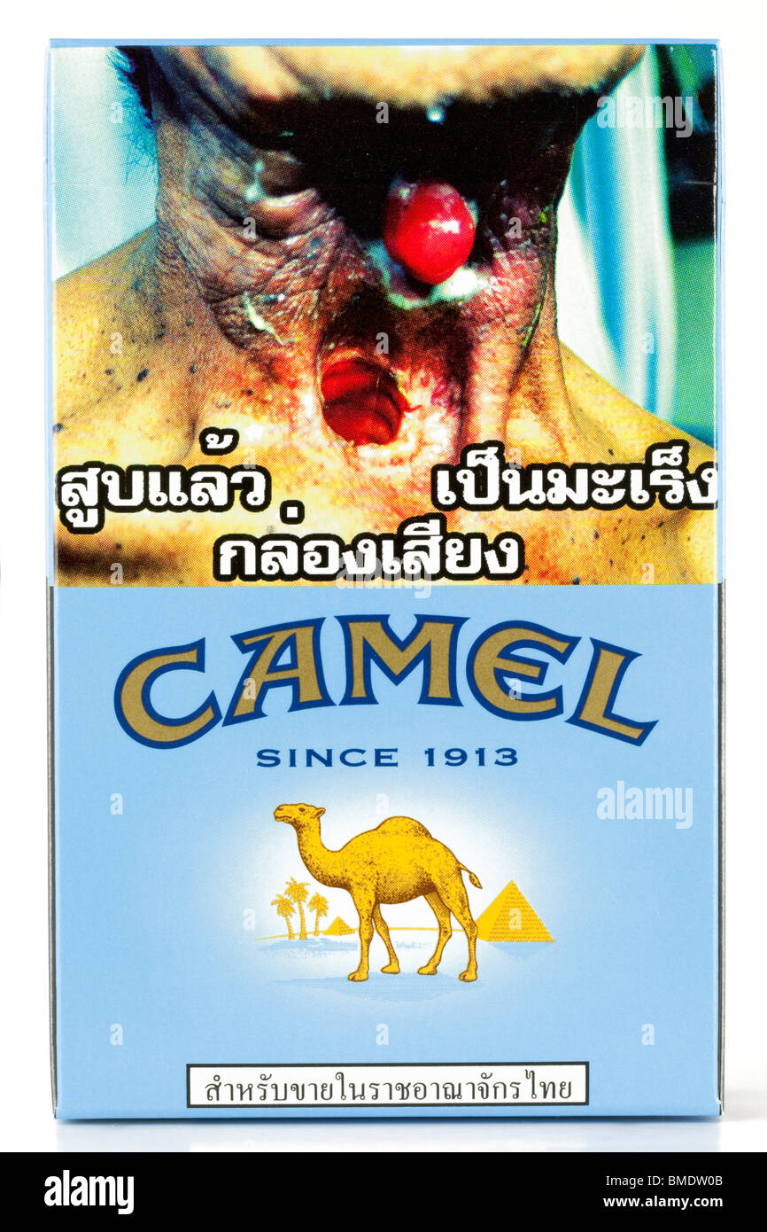 Camel Cigarette Packet On White High Resolution Stock Photography And Images Alamy