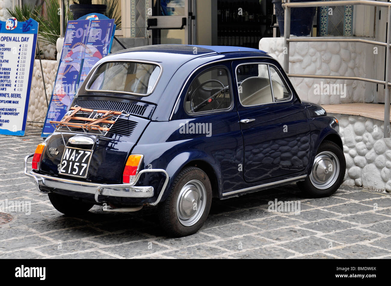 classic fiat 500 car italy stock photo 29808658 alamy. Black Bedroom Furniture Sets. Home Design Ideas