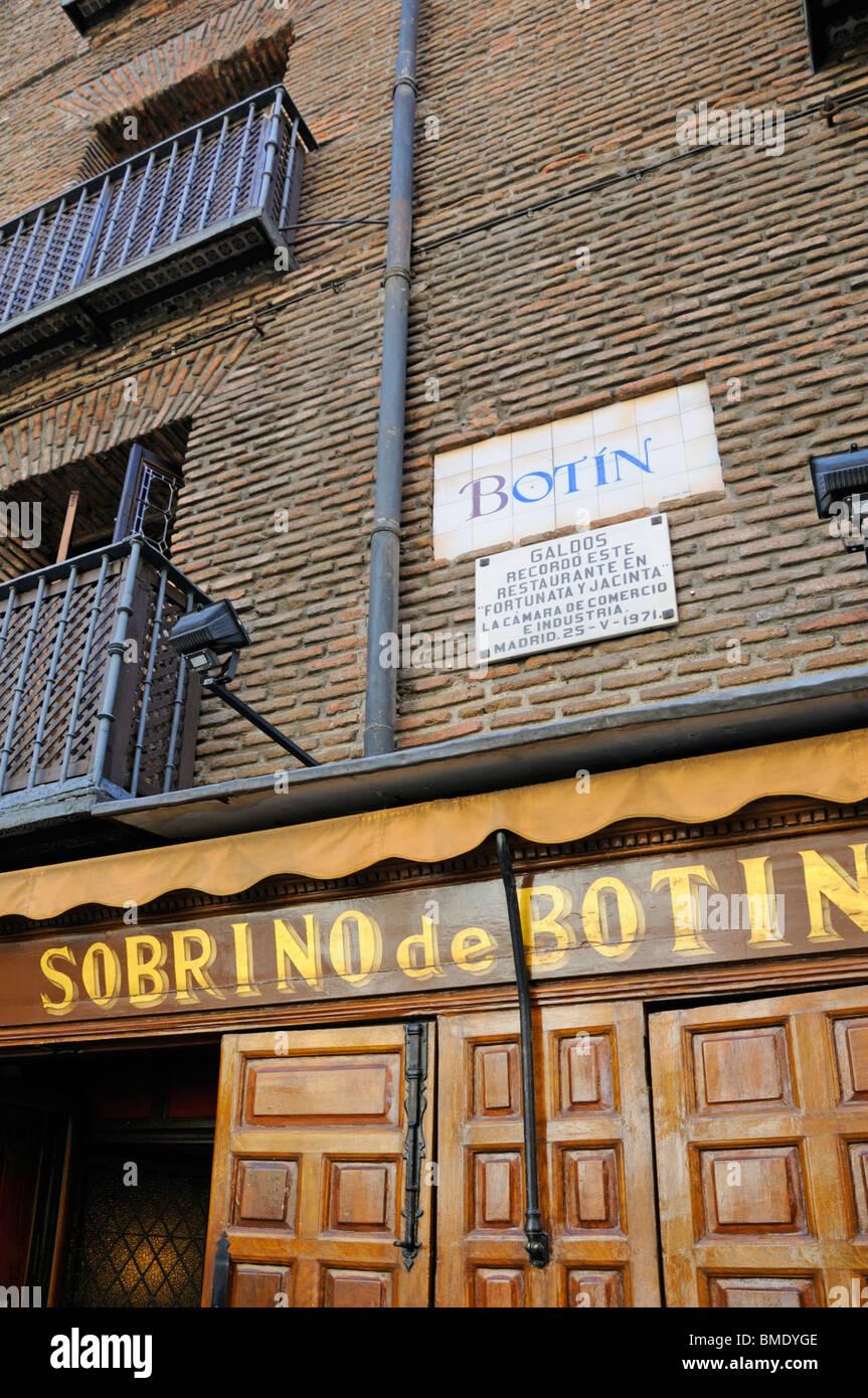 Botin Madrid Stock Photos & Botin Madrid Stock Images - Alamy