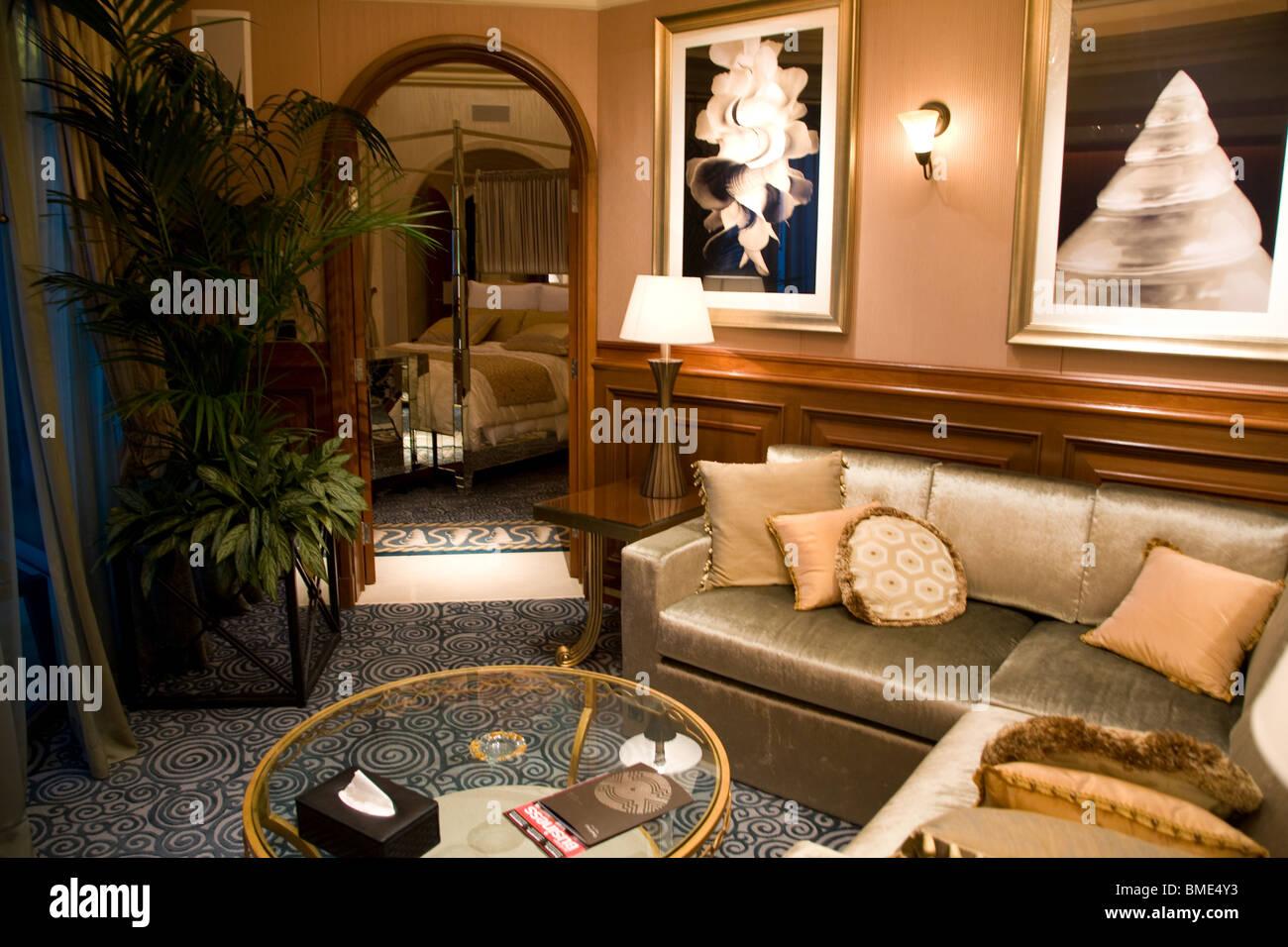 Royal Suite Atlantis Hotel Jumeirah Palm Dubai Uae United Arab Emirates    Stock Image