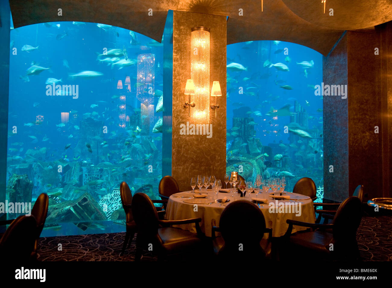Atlantis Dubai Restaurant High Resolution Stock Photography And Images Alamy