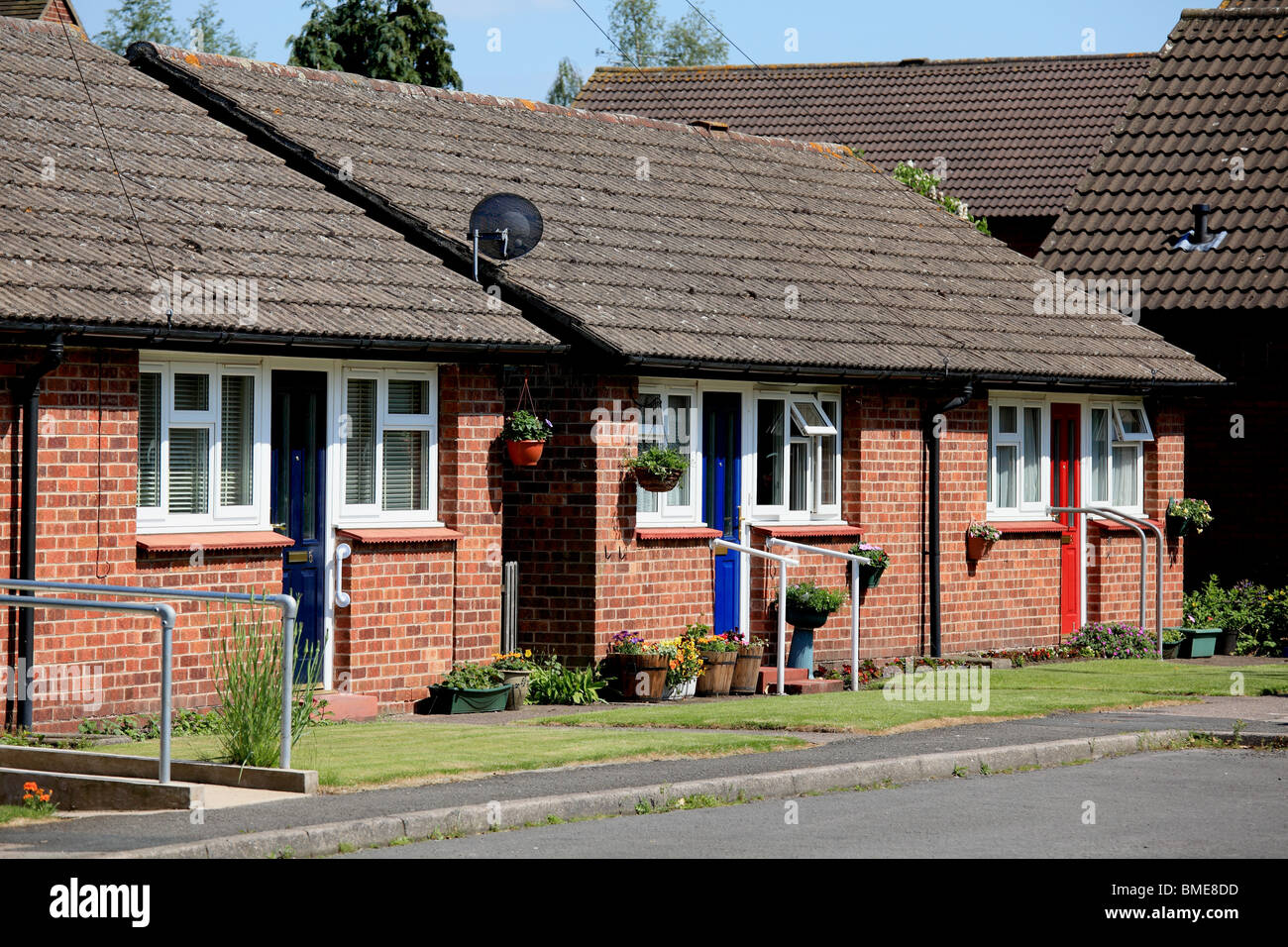 Bungalows designed for the elderly with disabled access and ...