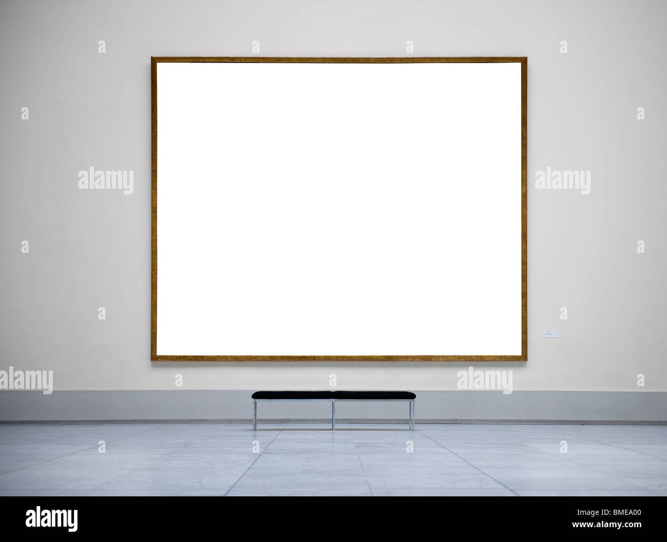 Empty frame in a museum Stock Photo: 29818656 - Alamy
