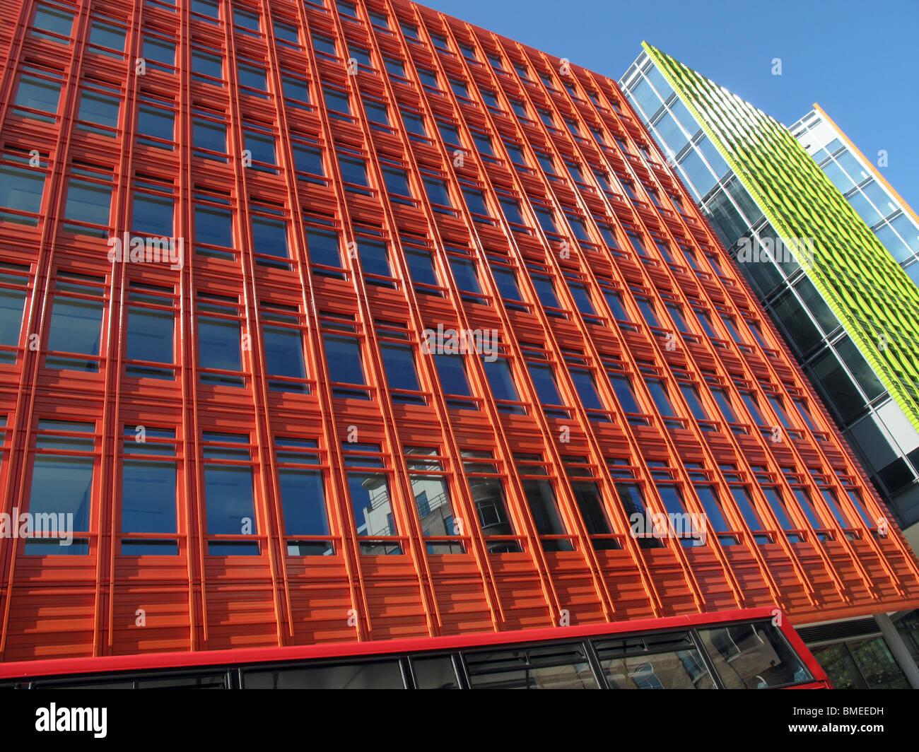 Central St Giles Architect Renzo Piano Architecture - Stock Image
