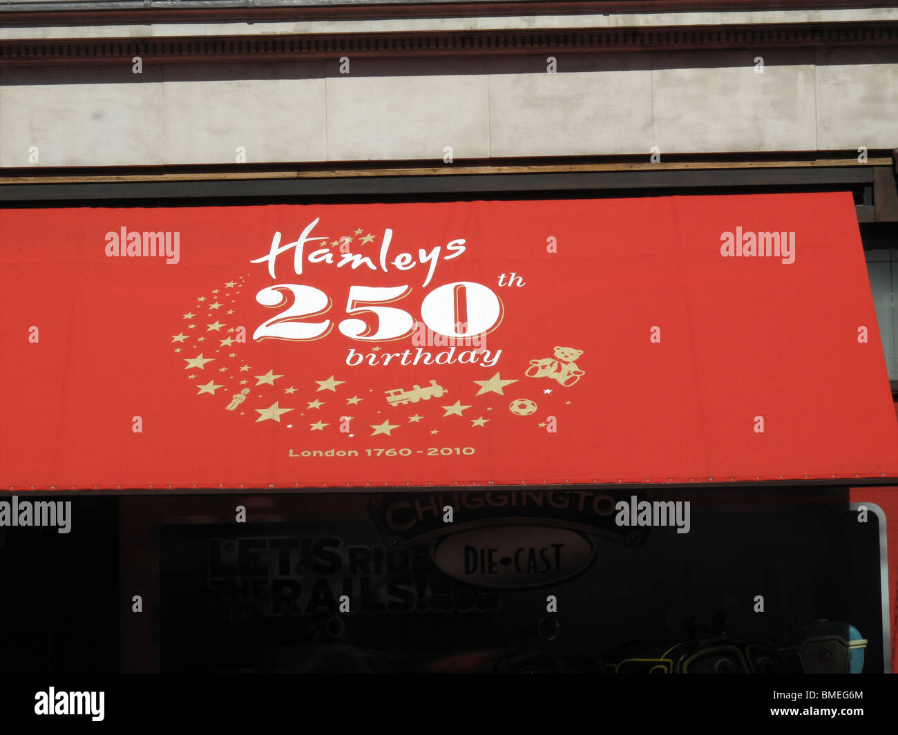 Hamleys 250th Anniversary Toys Shop - Stock Image