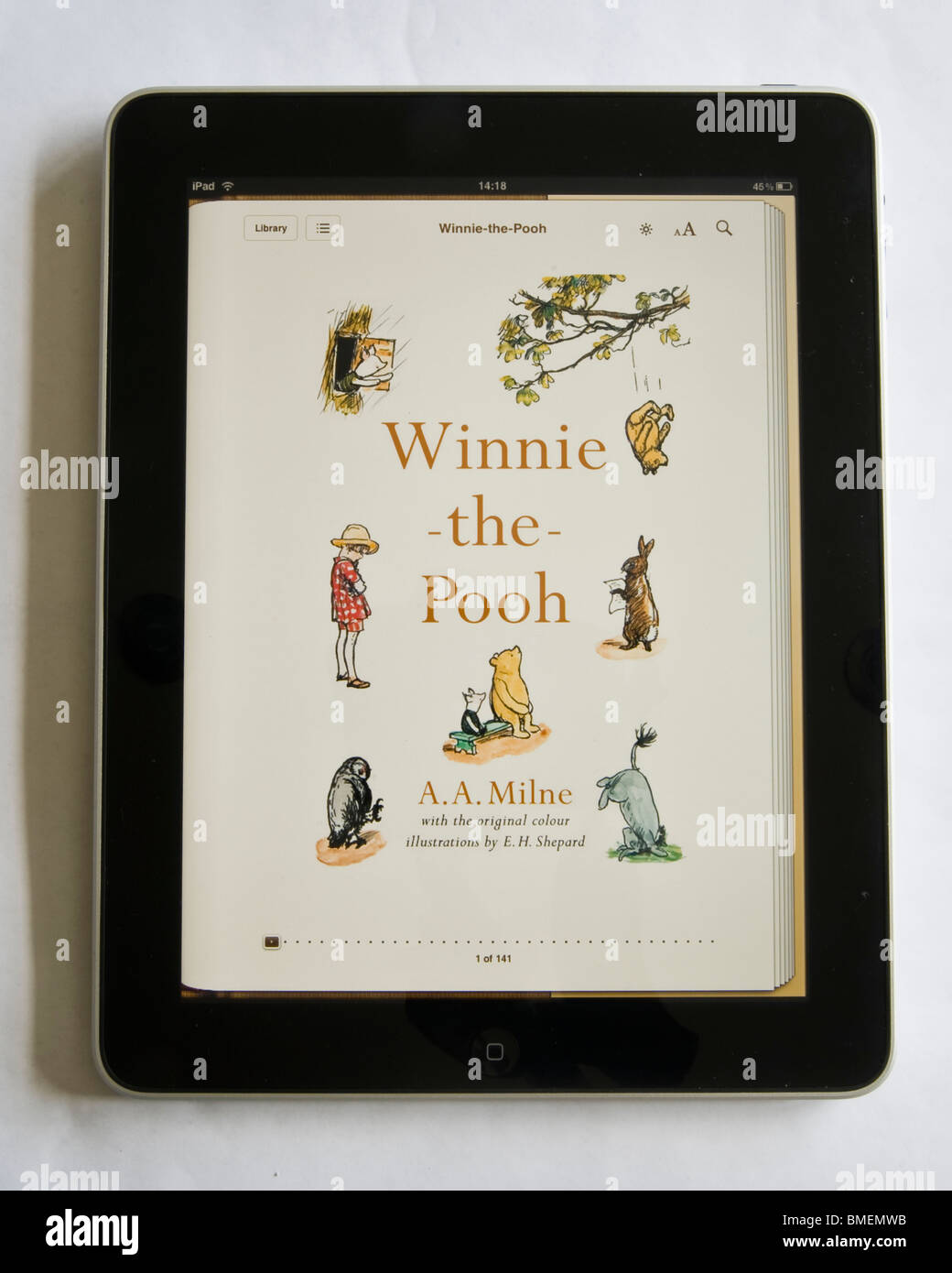 Winnie the pooh ebook on the apple ipad the ebook came free with winnie the pooh ebook on the apple ipad the ebook came free with ipad the ipad will be very popular for reading books voltagebd Gallery