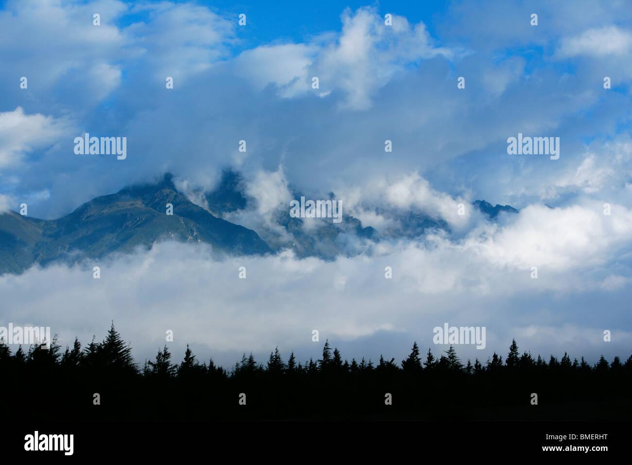 Yulong Snow Mountain, Yulong Naxi Autonomous County, Lijiang City, Yunnan Province, China - Stock Image
