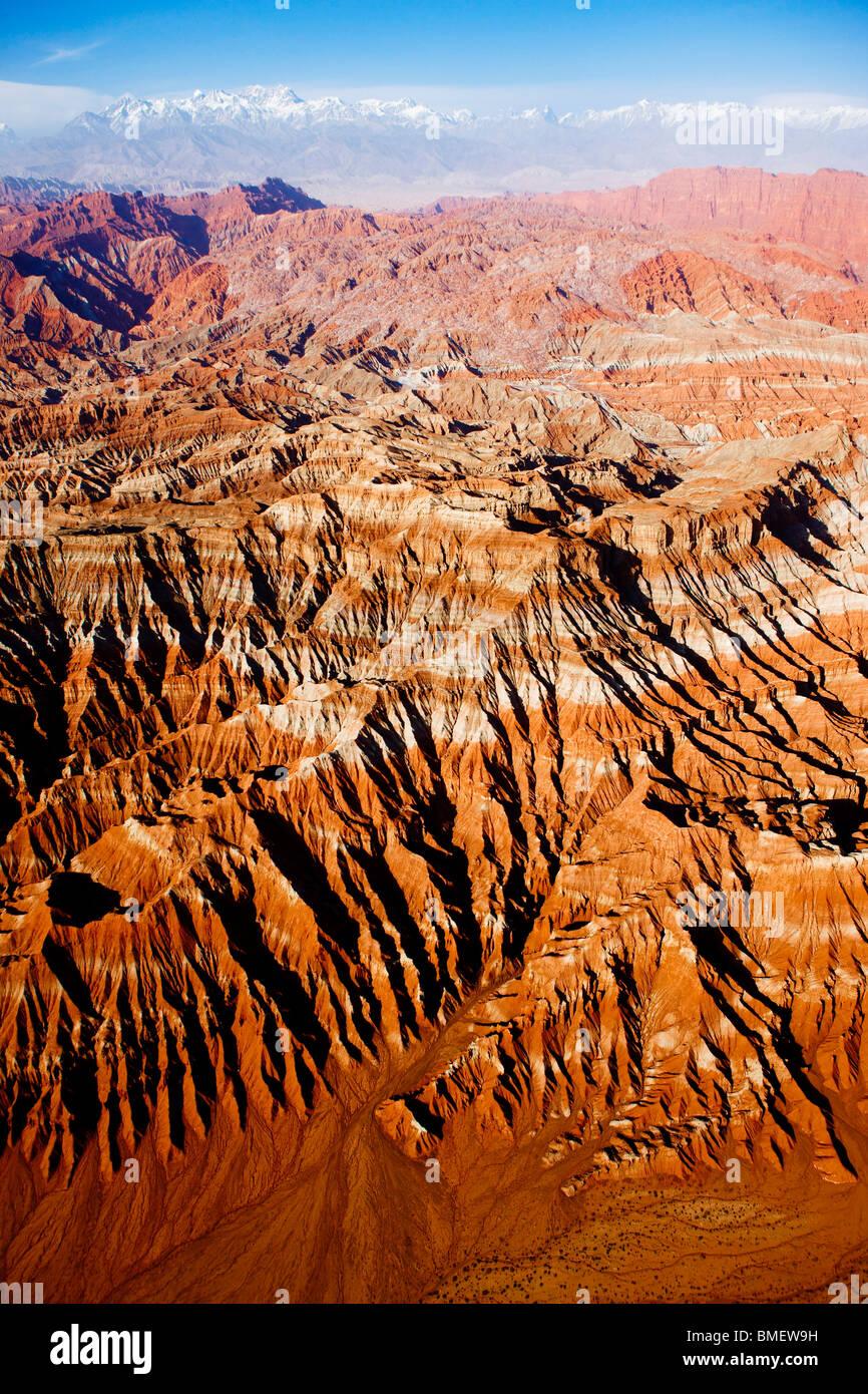 Magnificent view of Wensu Grand Canyon, Wensu County, Aksu Prefecture, Xinjiang Uyghur Autonomous Region, China - Stock Image