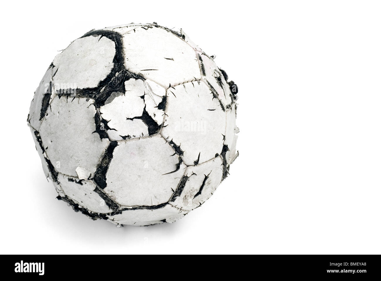 Game over old football - Stock Image