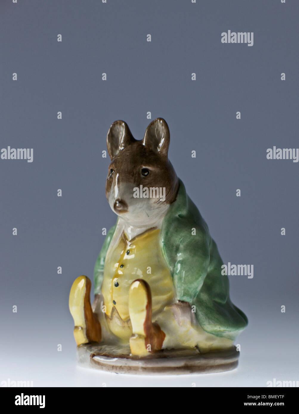 Samuel Whiskers - Beatrix Potter figures - Stock Image