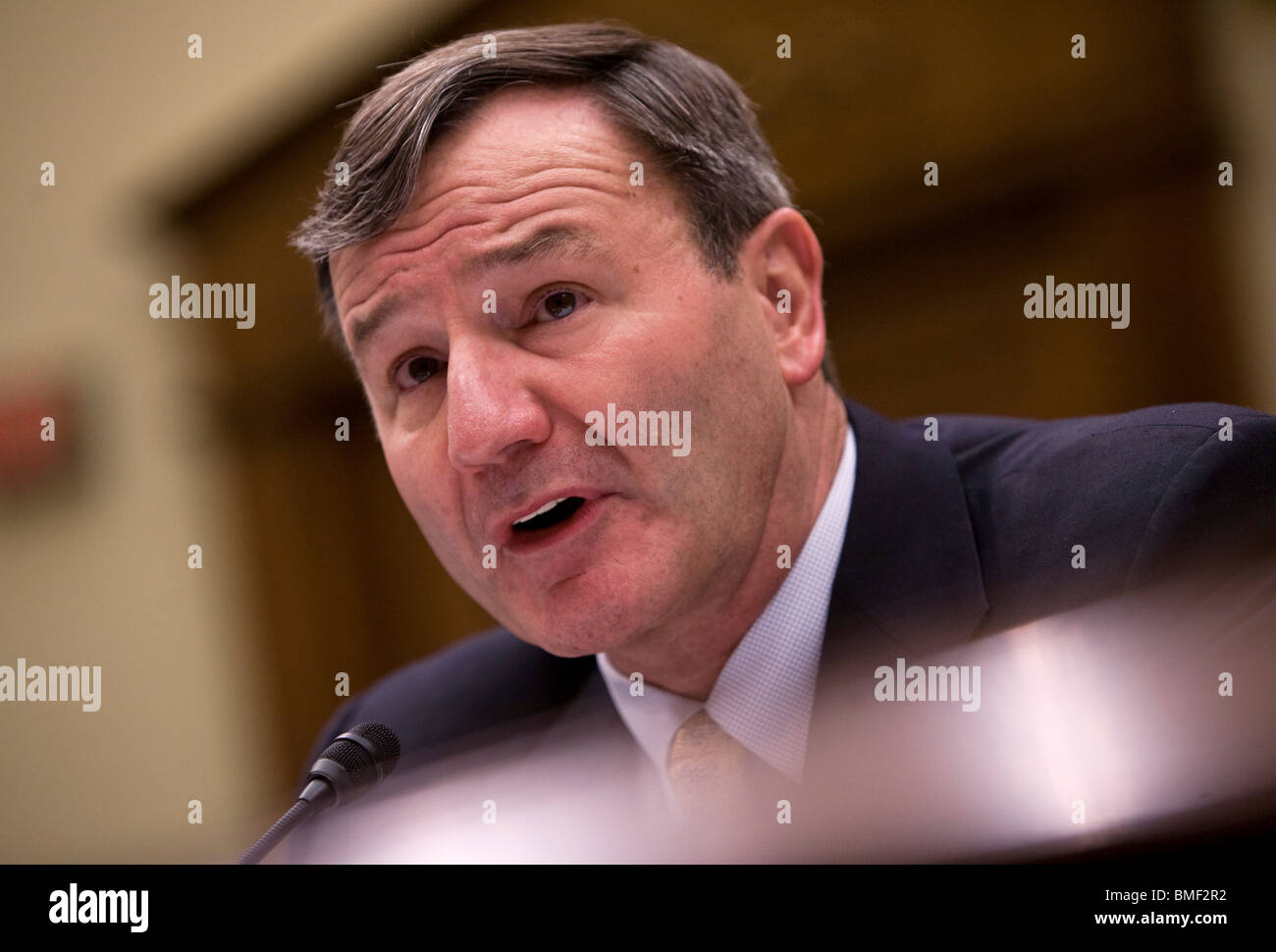 Karl Eikenberry, United States Ambassador to Afghanistan. - Stock Image