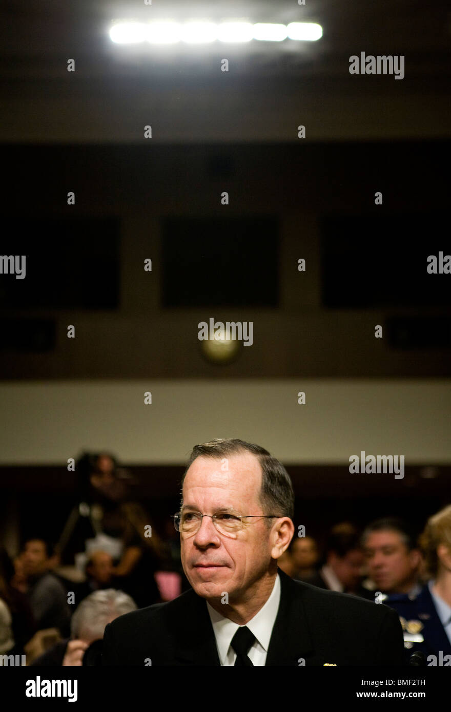 Chairman of the Joint Chiefs of Staff Admiral Michael Mullen - Stock Image