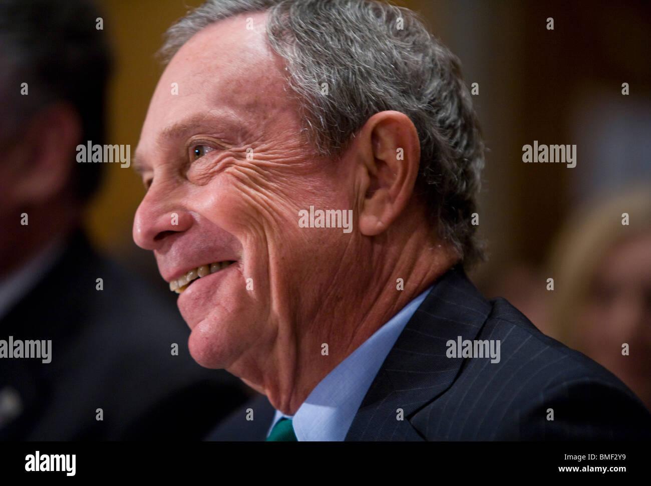 New York City Mayor Michael Bloomberg Stock Photo
