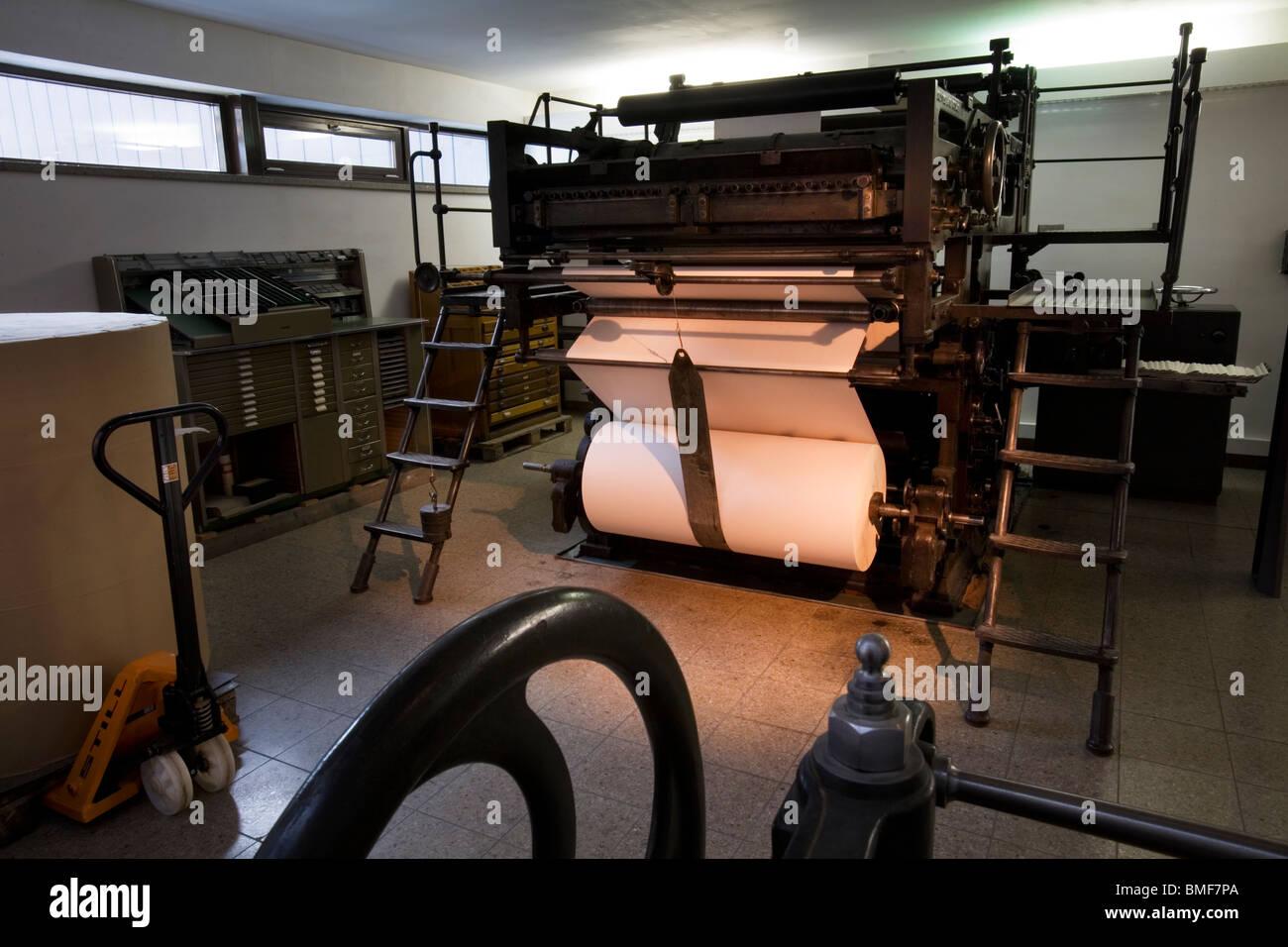 Printing Industry Vomag Rotary Press 1925