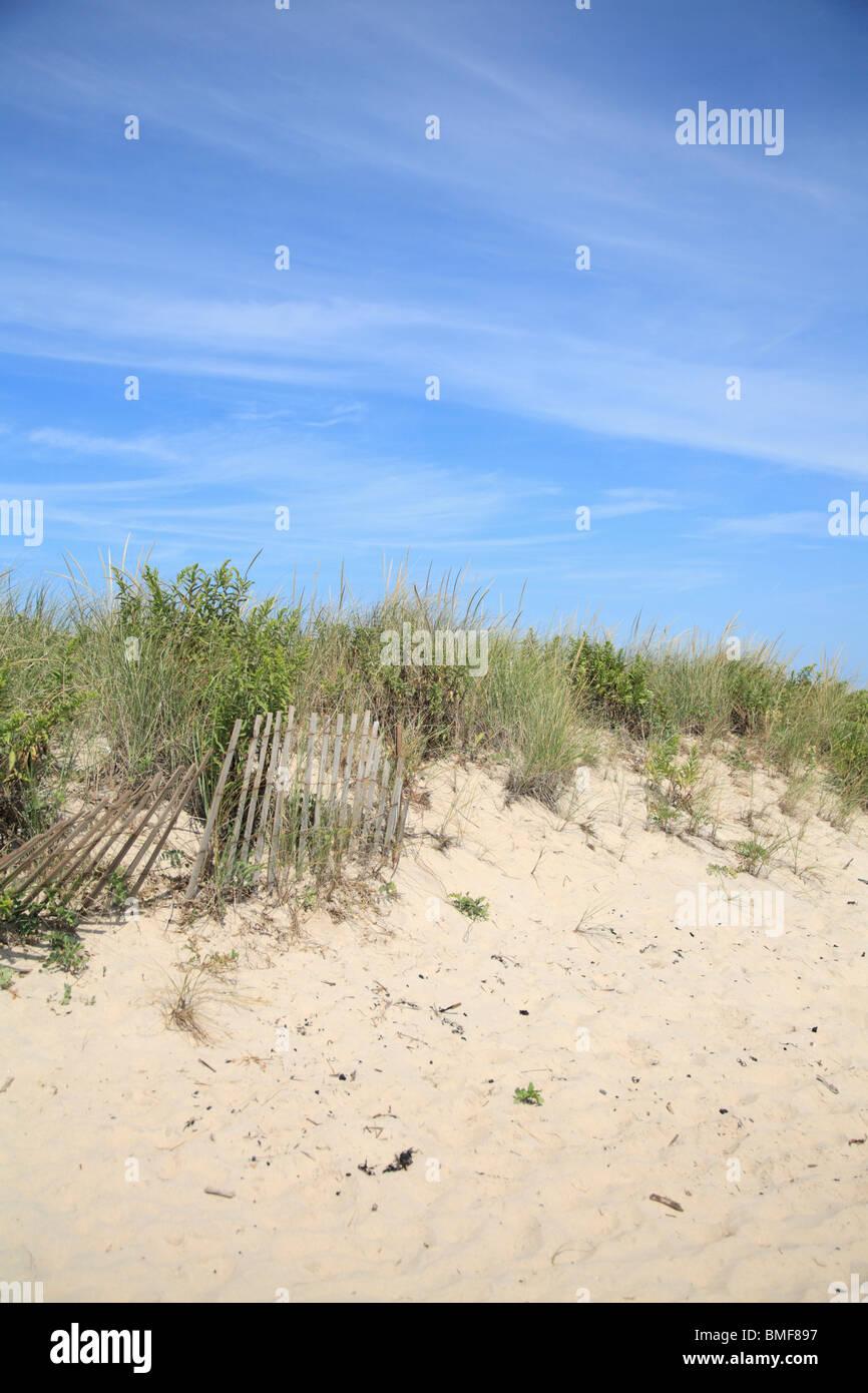 Wiborg Beach, East Hampton, The Hamptons, Long Island, New York, USA - Stock Image