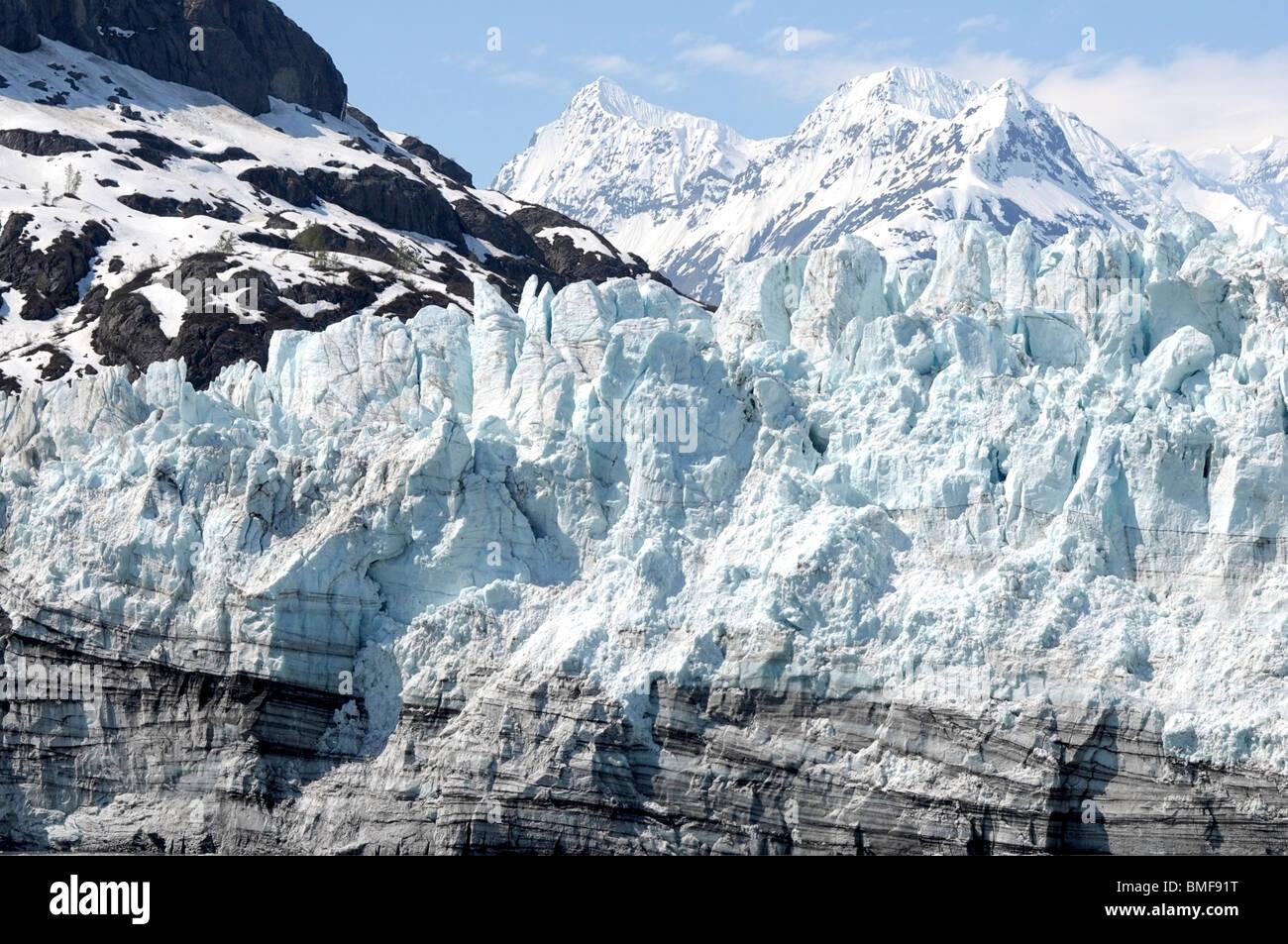 Glacier Bay, Inside Passage, Alaska. - Stock Image