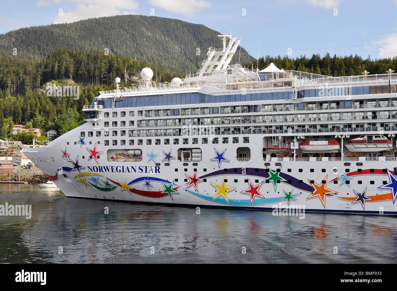 Cruise Ship - Norwegian Star - Stock Image
