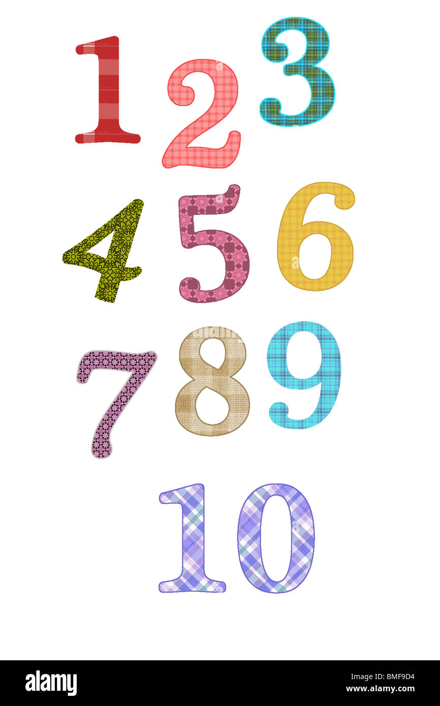 art, illustration, 123, counting, numbers, nursery art, kids Stock ...