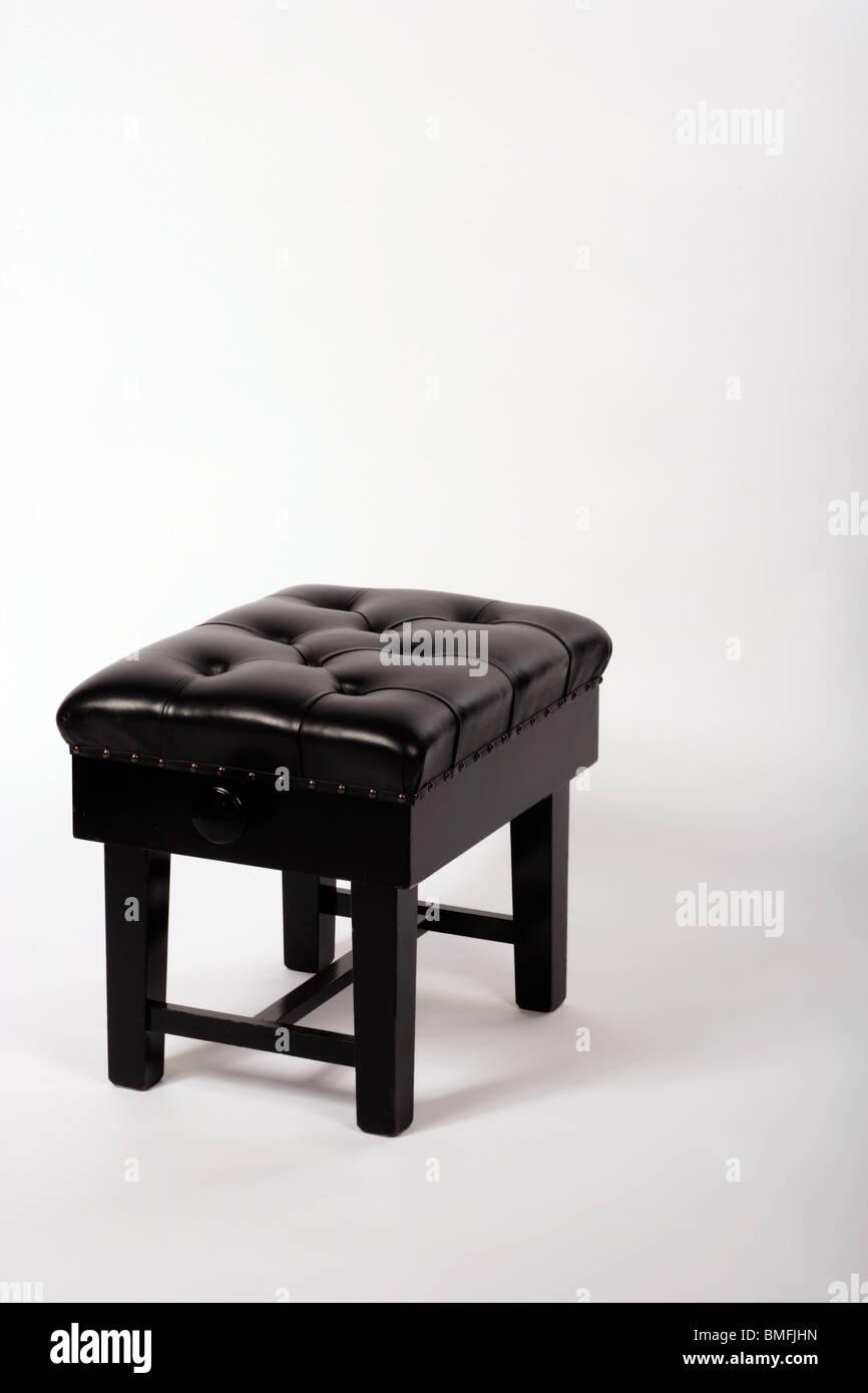 Piano stool - Stock Image