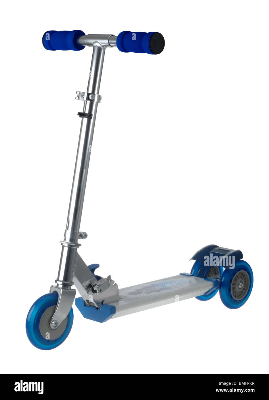 Scooter,  'kick scooter' 'push scooter' - Stock Image
