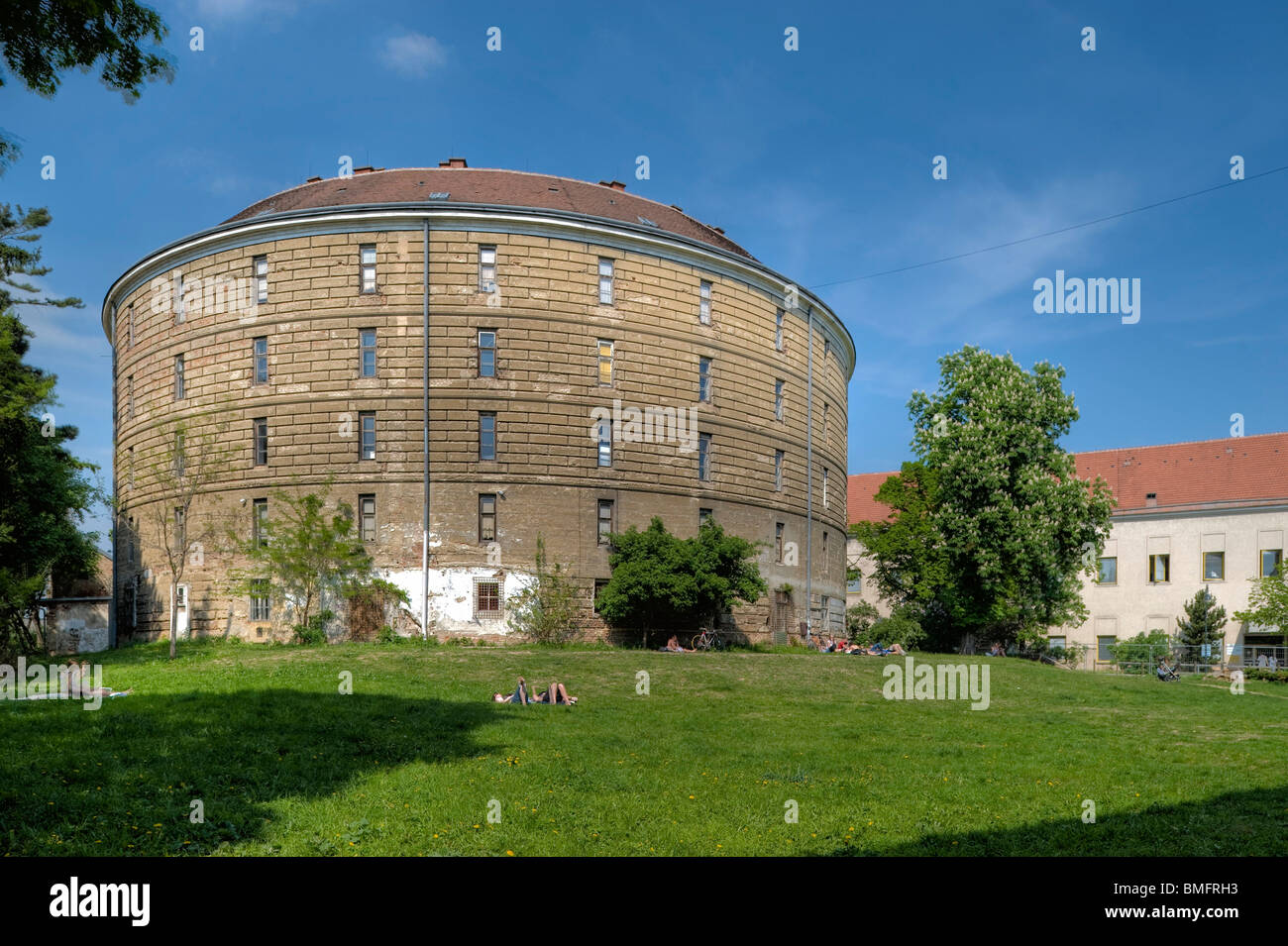 Wien, Narrenturm - Stock Image