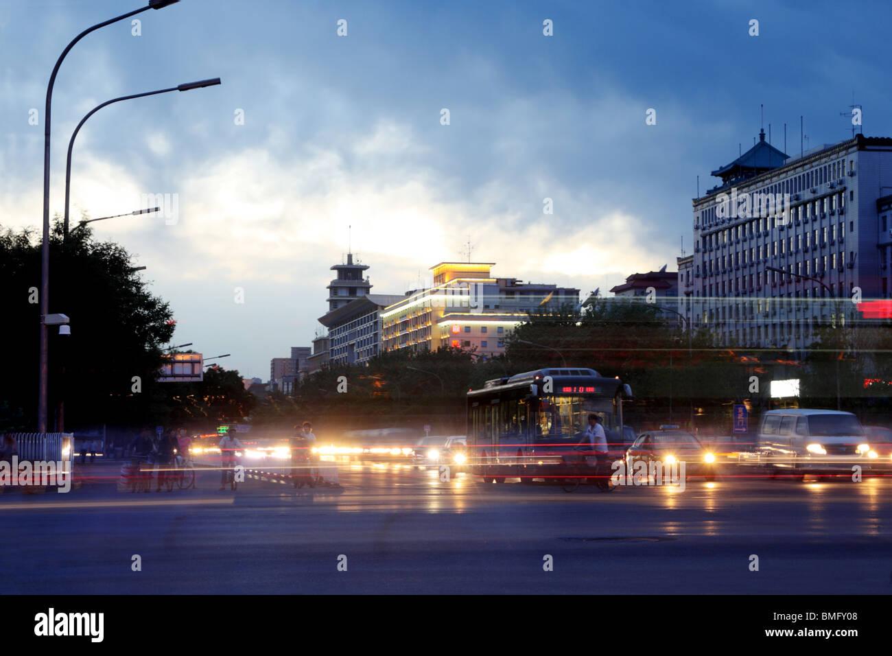 Xi Dan, Beijing, China - Stock Image