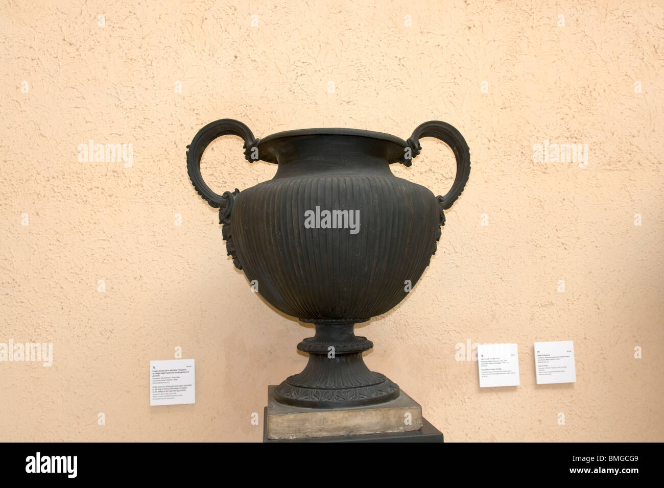Bronze Krater 'of Mithridates' (copy) - Stock Image
