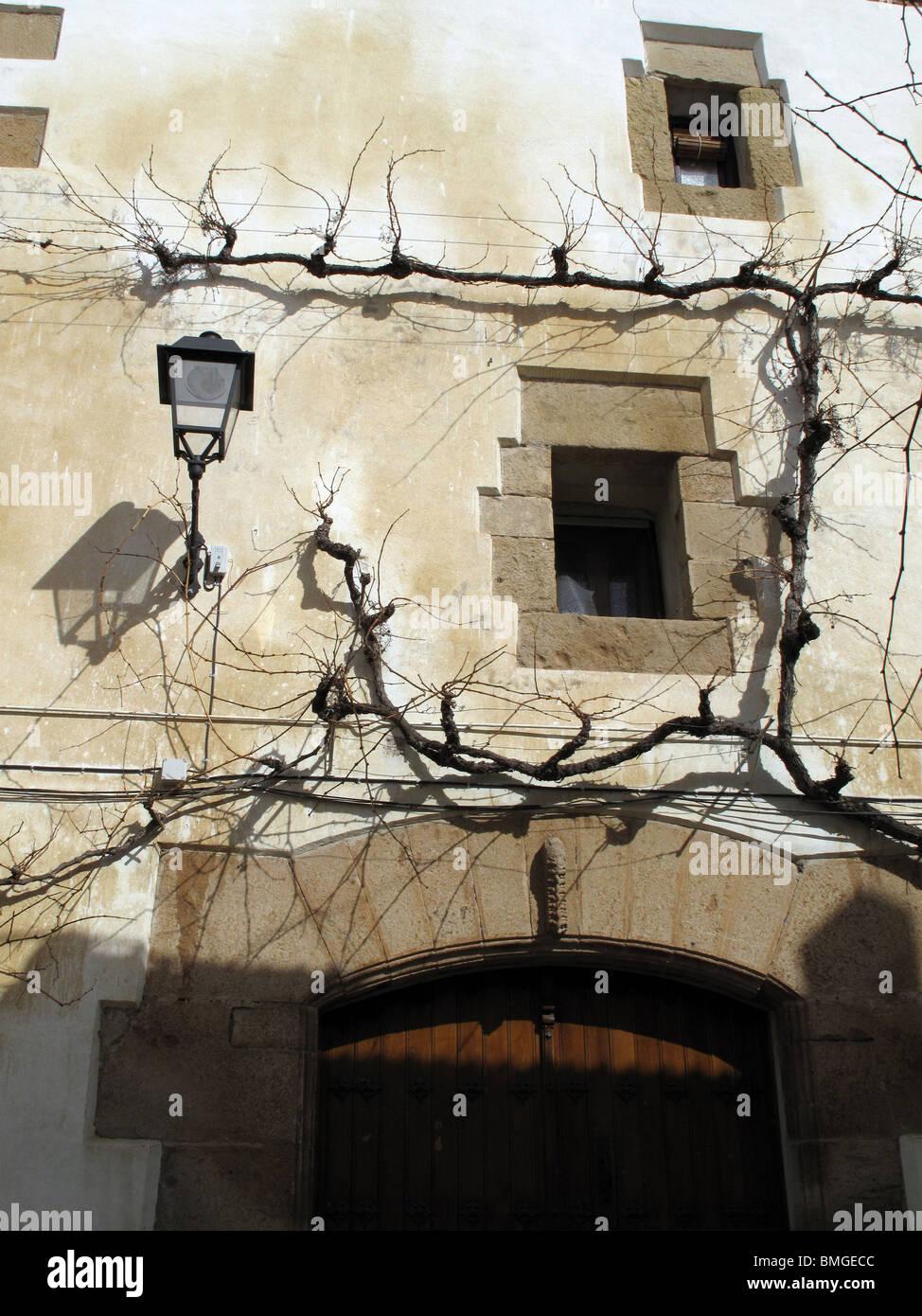 Cirauqui. Navarra. España. CAMINO DE SANTIAGO. Cirauqui. Navarre. Spain. WAY OF ST JAMES. - Stock Image