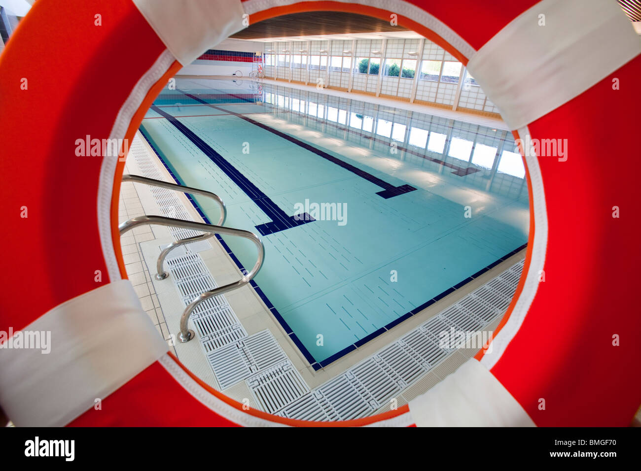 Swimming pool at Help for Heroes Rehabilitation Complex, Headley Court - Stock Image