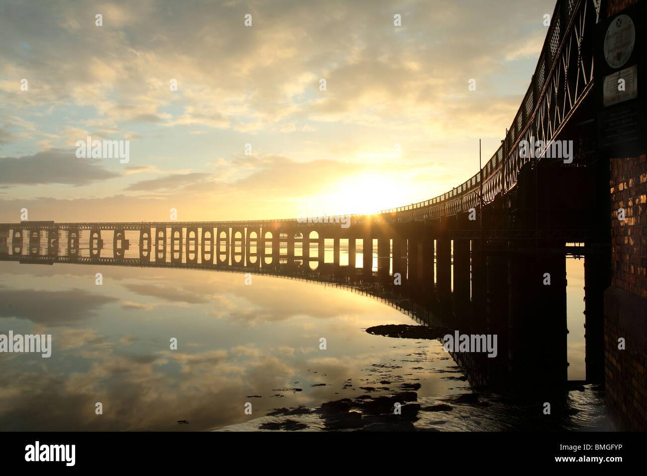 tay rail bridge - Stock Image