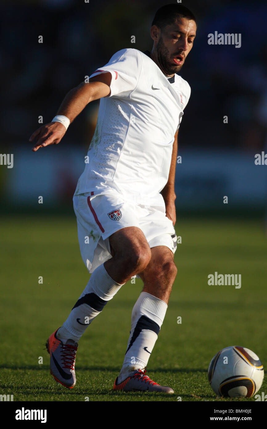 Clint Dempsey of the USA in action during an international football friendly against Australia ahead of the 2010 - Stock Image
