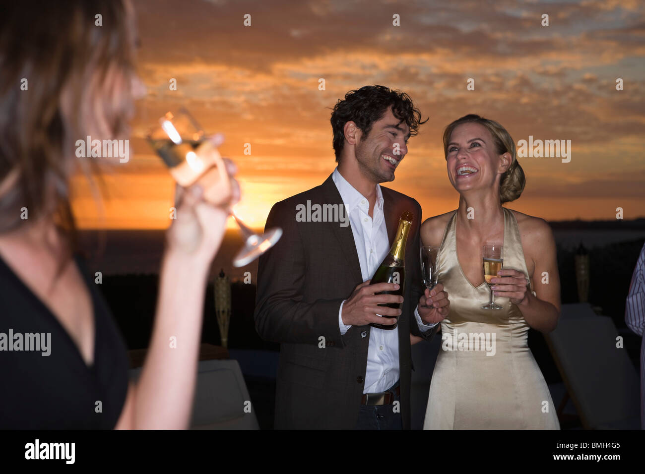 Party time - Stock Image