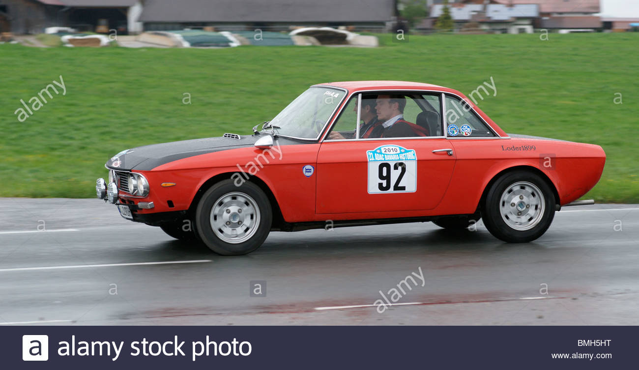 old lancia sports car stock photo: 29881092 - alamy