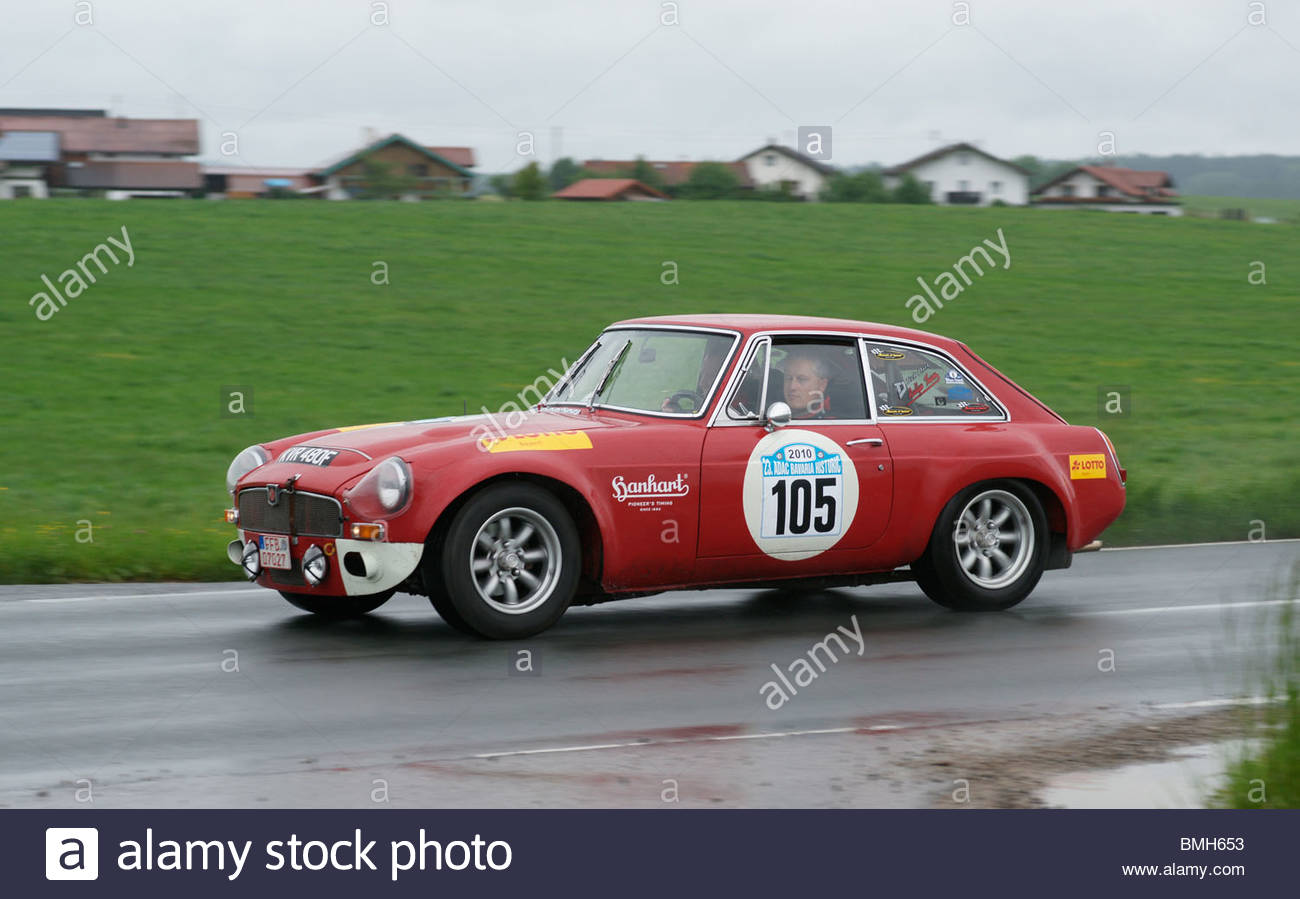 Old sports car - Stock Image
