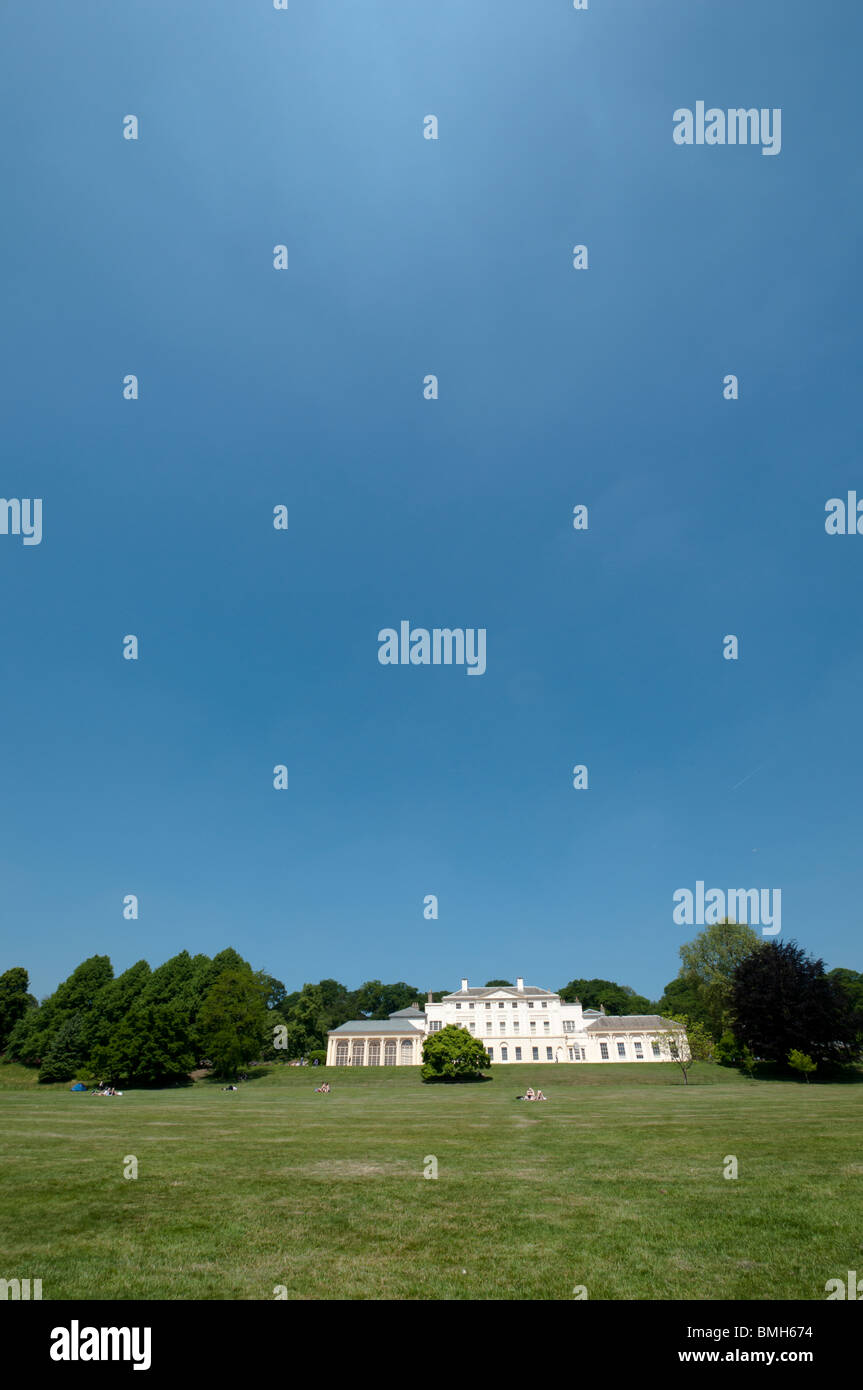 Kenwood House Wide View - Stock Image