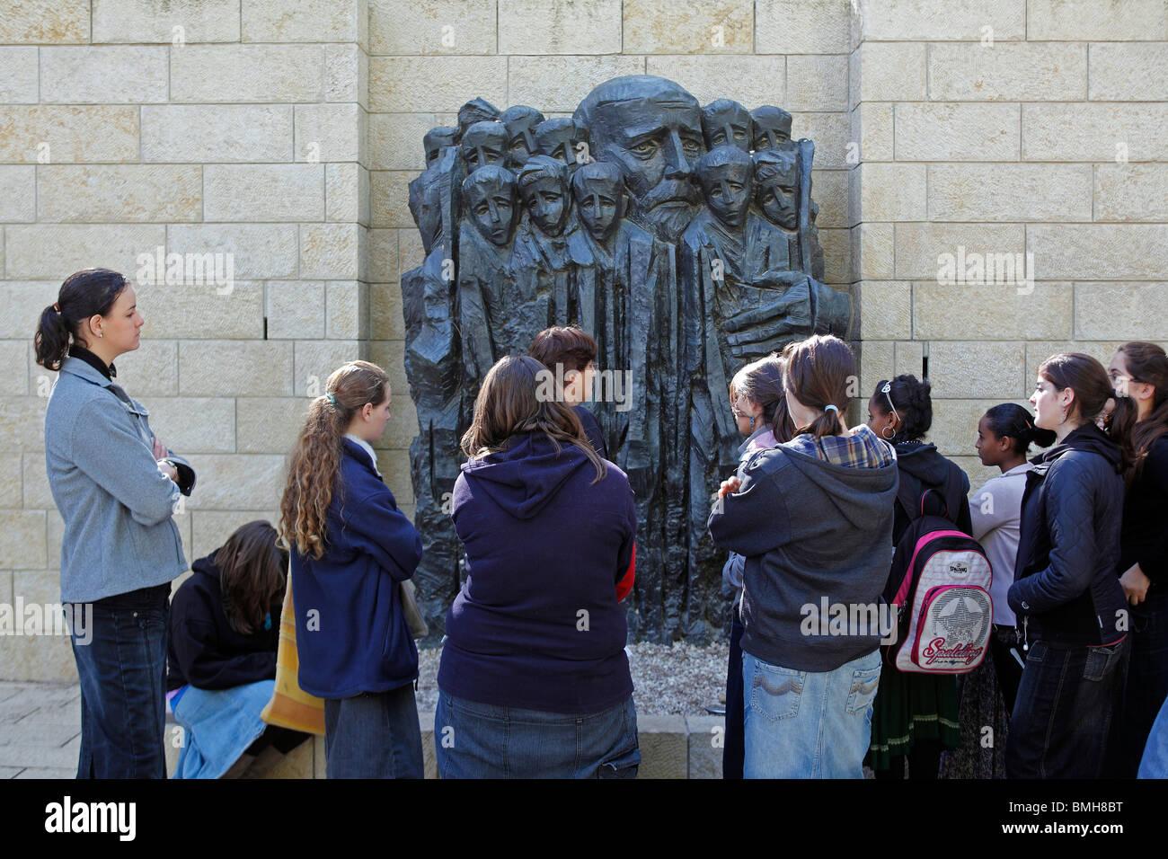 Israel,Jerusalem,Yad Vashem Museum - Stock Image