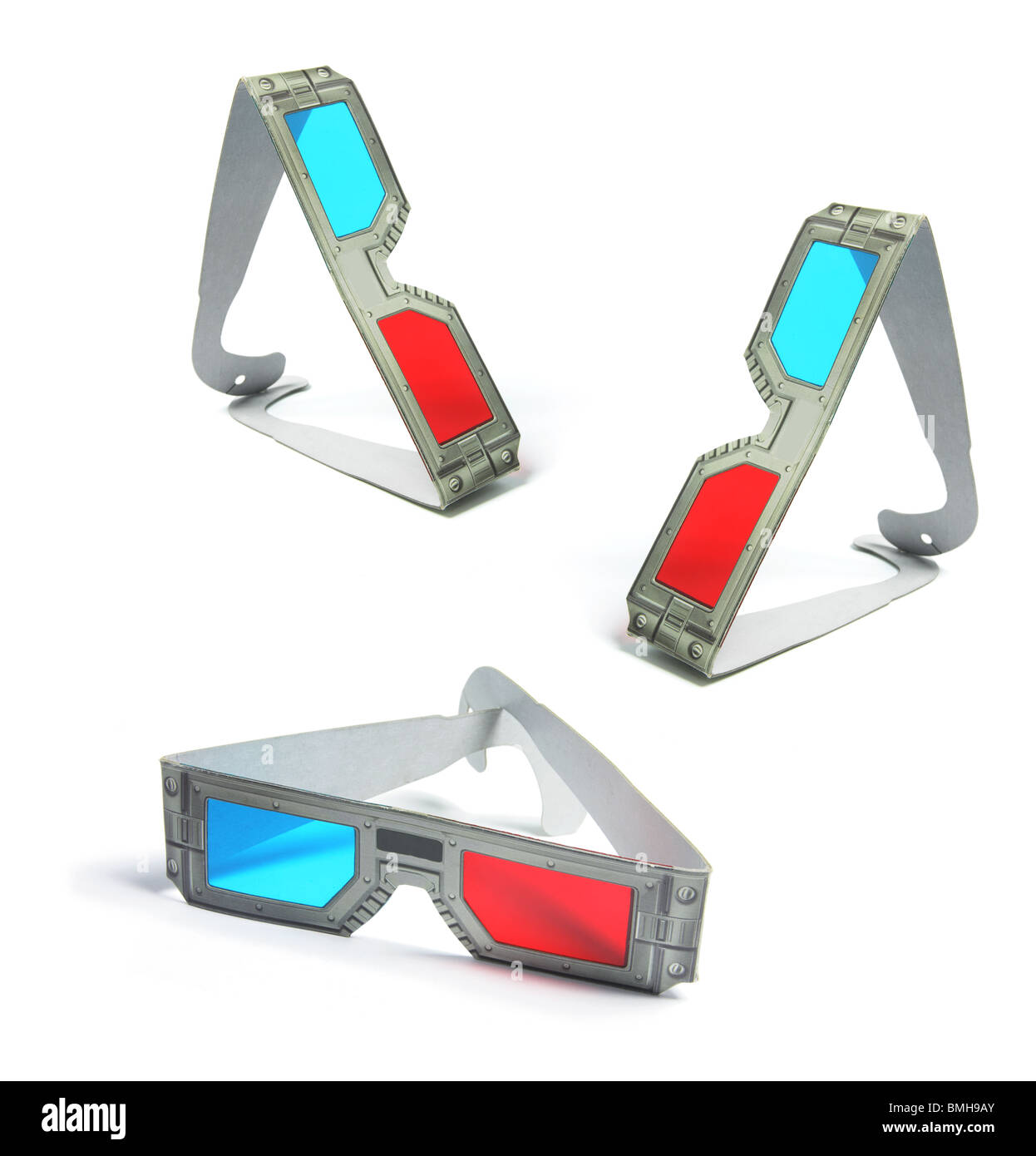 3-D Glasses - Stock Image