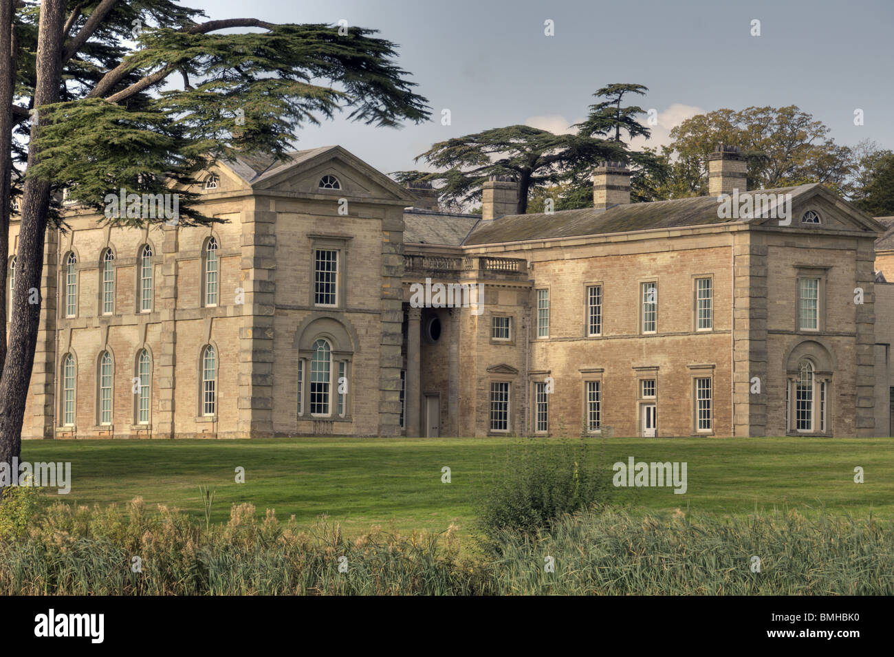 Compton Verney in Warwickshire, Engand - Stock Image