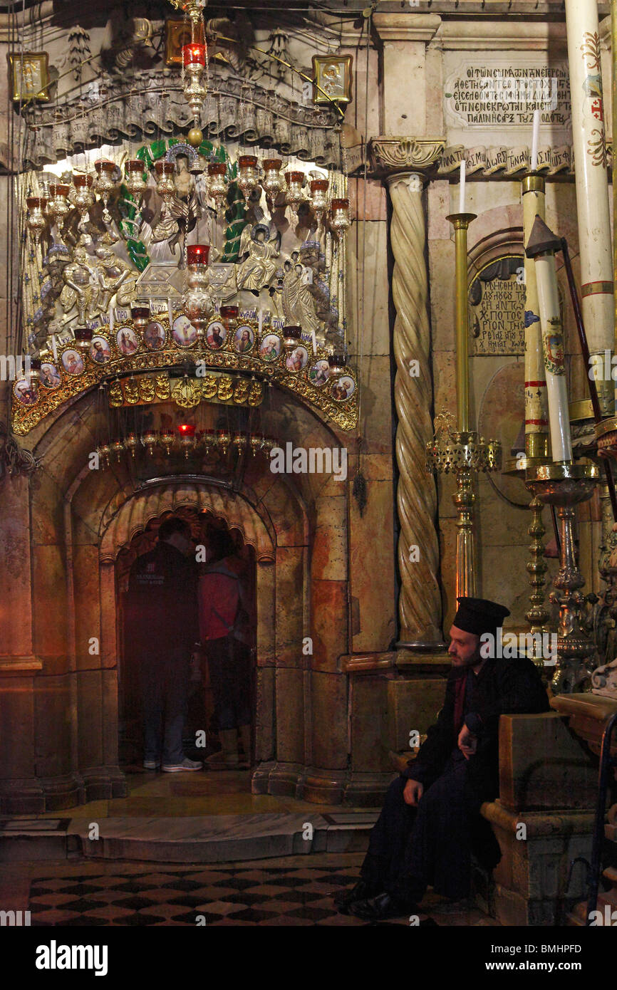 Israel,Jerusalem,Church of the Holy Sepulchre - Stock Image