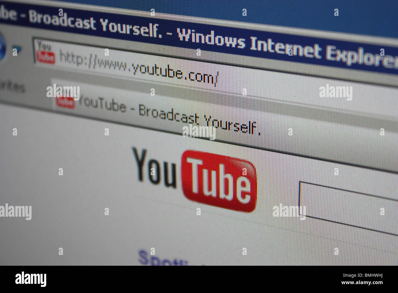 Youtube Screen Stock Photos & Youtube Screen Stock Images