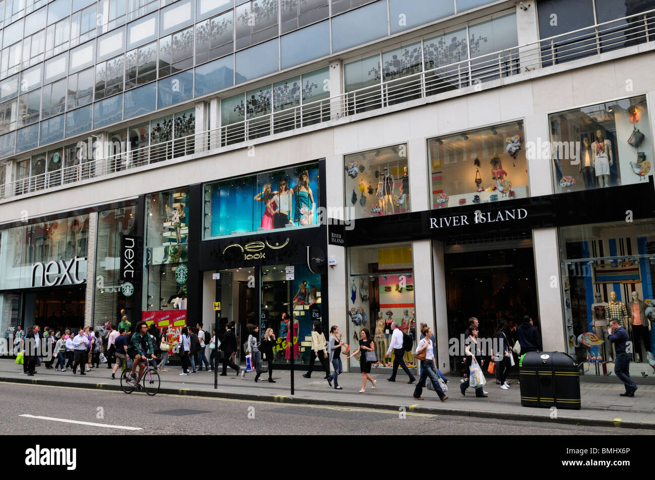 Shopping in London England Oxford Street