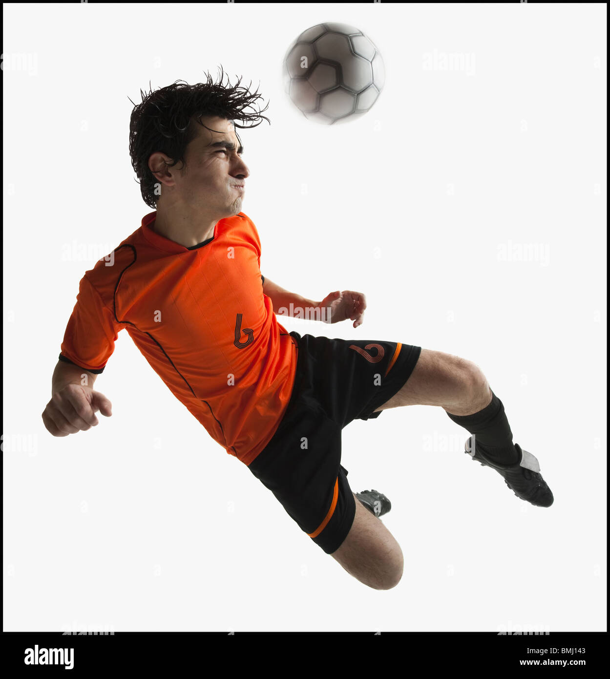 Football player - Stock Image